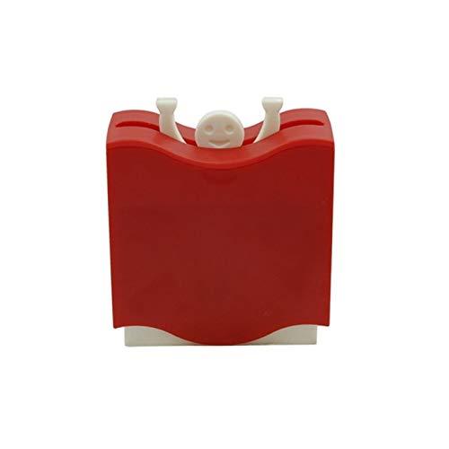 XATAKJJ Creativo palillo de dientes Caja Divertido Automático Palillo de dientes Titular Portátil palillo de dientes caso hogar escritorio mesa decoración de la mesa suministros