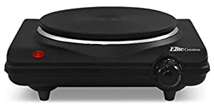 Adjustable temperature control with Off, Warm, Low, Med, and High settings 1000 watts of power for faster cooking Easy to clean heavy duty cast-iron flat heating plate Cool-touch base and non-skid rubber feet for stable cooking Power indicator light ...