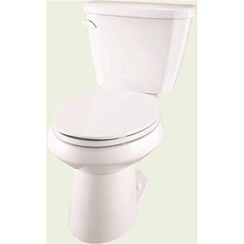 Gerber Viper Complete Toilet-In-A-Box With Elongated Bowl,...