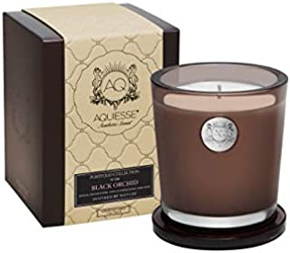 Aquiesse Black Orchid~Large Soy Candle/Gift Box