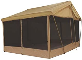 Trek 8 AWNING CANVAS SCREEN HOUSE CABIN TENT By Sleeps 9