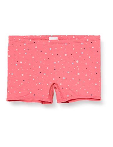Sanetta Mädchen Camellia Rose Rosarote Shorts Buntem Konfetti-Alloverprint, rosa, 116