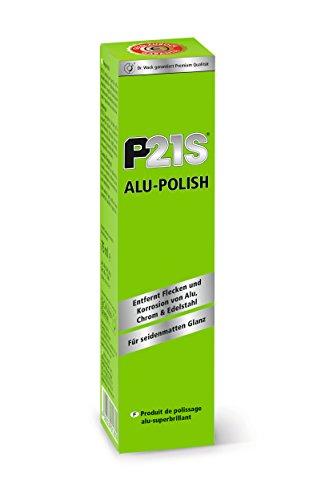 Dr. Wack – P21S Alu-Polish 75 ml I Premium Felgen-Politur für alle Felgen I Hochglanz & Schutz für alle Metallteile I Hochwertige Felgenpflege – Made in Germany
