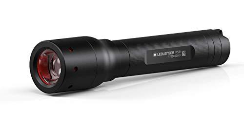 Ledlenser P5R LED Akku Taschenlampe, 420 Lumen, 15 Stunden Laufzeit, wiederaufladbar, robustes Metallgehäuse, fokussierbar, inkl. Akkusatz