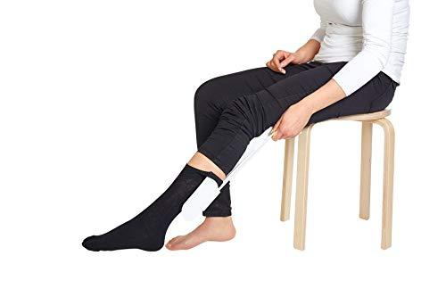 TronicXL Sockenanzieher Socken Strumpf Anzieher Anziehhilfe für Senioren Schwangere Schwangerschaft Hilfe Hilfsmittel