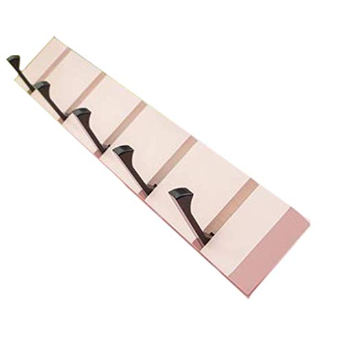 Handdoekenrek Sluit Hook Up Gratis Hook panhaak Creative Line achter de deur Line Hook Room Door kapstokhaak XXT (Kleur: 40cm) (Color : 50cm)