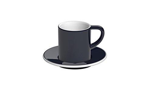 LOYWT gerade 80 ml Kondensmilch Kaffee Tasse/Geschirrspüler, Navy Blue