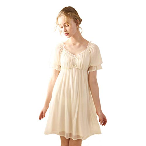 WEWE vrouwen kant robe bruidsmeisje roben nachthemd bruiloft robe bruid robe vintage sleepwear