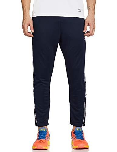 Reebok Classics Men's Regular Fit Tracksuit Pant Casual (FT7314_VECNAV_Large)