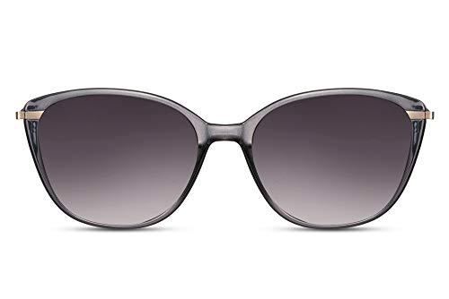 Cheapass Zonnebrillen Normaal Formaat Dames Vlinder Montuur in Fancy Kleurvarianten UV400 bescherming