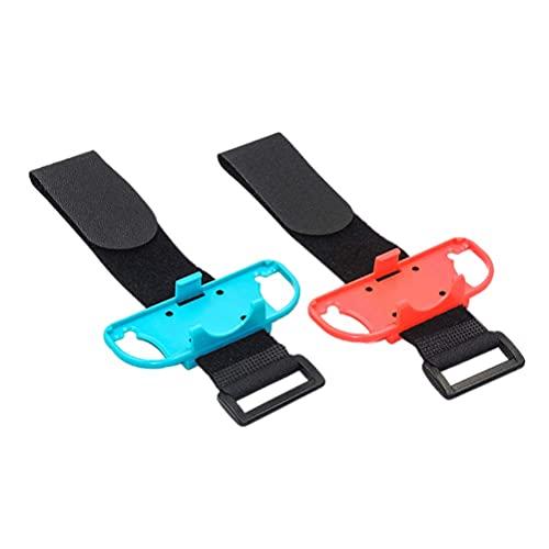 DealMux 1 par Compatible con correas de brazalete Just Dance Brazaletes elásticos ultra seguros que protegen contra fuertes vientos y golpes