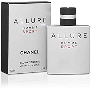 Chânél Allure Homme Sport Men Eau de Toilette Spray 3.4 Fl. OZ. / 100ML.