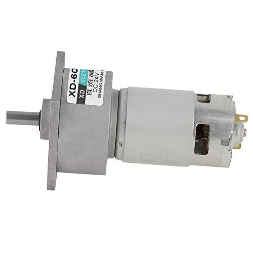 DC 12/24V 35W Motor de Engranaje Reductor de Velocidad Micro