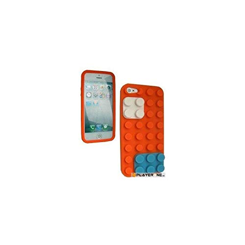 BUMPER - Housse LEGO IPhone 5 - Orange : Mobiles , ML