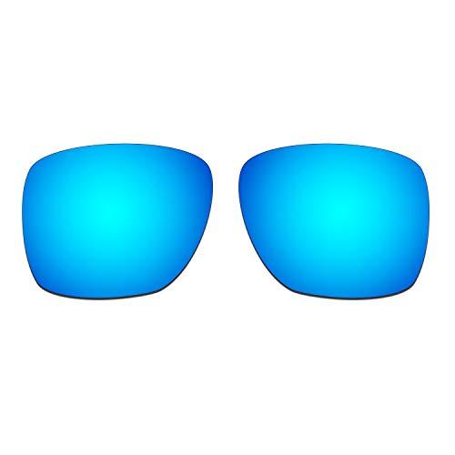 HKUCO Lentes de Repuesto para Oakley Sliver XL Gafas de Sol Azul Polarizado