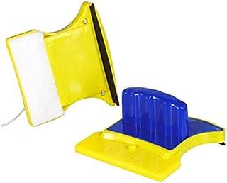 مساحة مغناطيسة مزدوجة الاسطح لتنظيف زجاج النوافذ والاسطح الزجاجية في المنزل
