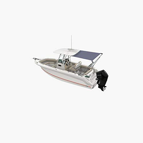 Oceansouth T-Top Estensione Kit/Ombra di Poppa (Grigio, Lunghezza e Larghezza 2.1m - 2.1m)
