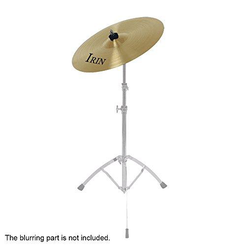 Ammoon 12 'Lega di Ottone Crash Giro Hi-Hat Piatti Box per I Giocatori Drum Set Studenti Principianti Professionali