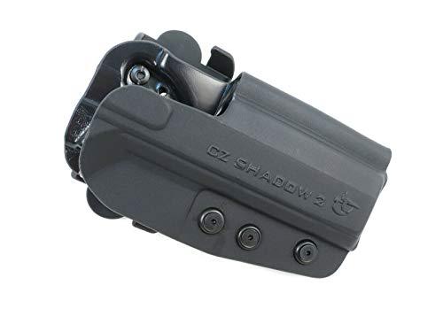 COMP-TAC.COM International Holster - CZ - Shadow 2 - Right - Black (Belt, Paddle, Drop Offset) IDPA USPSA 3GUN