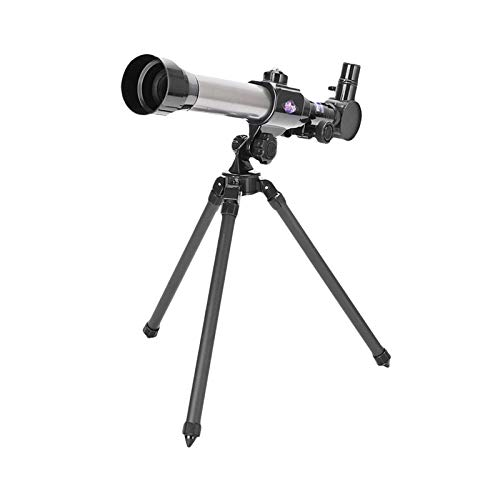 360/50mm Refractive Astronomical Telescope, Telescope for Beginners with Tripod Monocula Space Astronomical Spotting for Children Beginners (1 x Telescope&20/30/40X Eyepiece&Tripod)