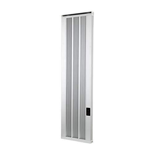 HMM Calefactor Baño Pared Calefactor Bajo Consumo con Termostato Radiador Calentador De Infrarrojos Calentador De Oficina Pantalla Táctil Impermeable Y Silenciosa con Tornillos