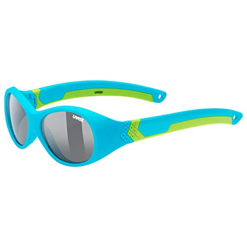uvex Unisex Jugend, sportstyle 510 Sonnenbrille, blue green/smoke, one size