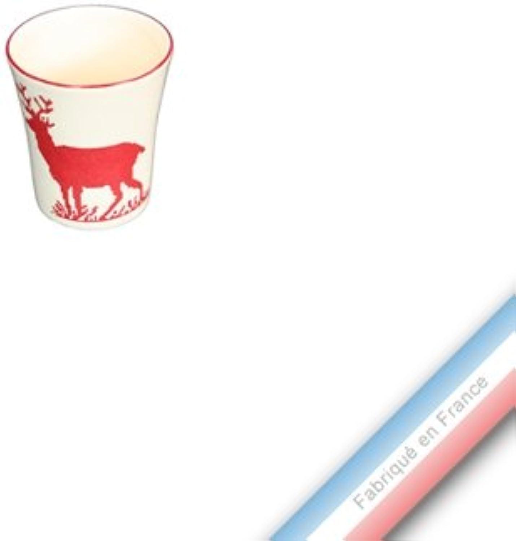 soporte minorista mayorista Collection montaa rojo, rojo, Coquetier - H 6 cm cm cm  hasta un 70% de descuento