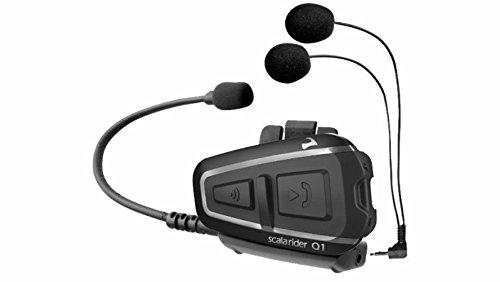 Cardo interfono Scala Rider Q1individual Bluetooth GPS TomTom Moto Casco