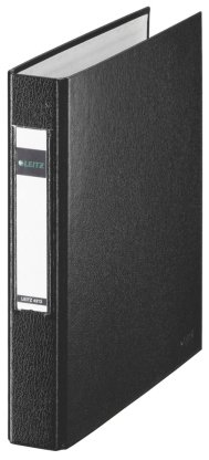 Leitz 42130095 Ringbuch (A5 2 Ringe 25 mm) Schwarz