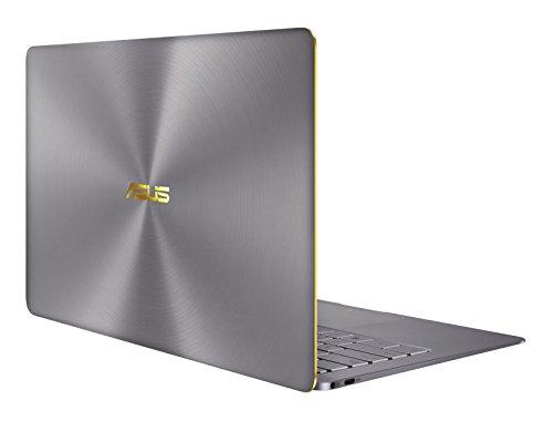 ASUS ZenBook 3 Deluxe UX490 / 3490 (90NB0EI3-M02910) 35,6 cm (14 Zoll, Full-HD) Ultrabook (Intel Core i7-7500U, 16GB RAM, 512GB SSD, Intel HD Graphics, Windows 10 Pure) Quartz Grau