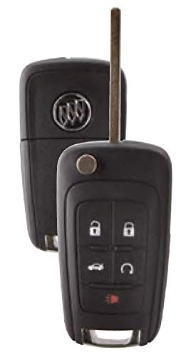 OEM Keyless Entry Remote Fits Buick Regal LaCrosse Verano Allure With DIY Programming Instructions (Push Start Button Ignition Models Only)