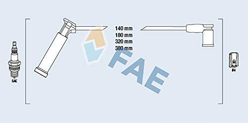 FAE 85115 Zündleitungssatz
