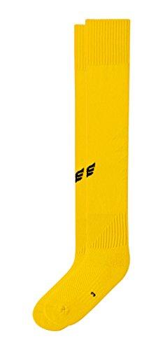 Erima Stutzenstrumpf mit Logo, gelb