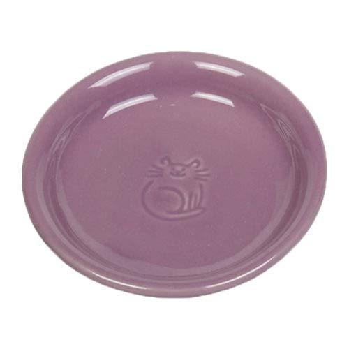 Nobby Katzen Keramik Milchschale lila Ø14 x 2 cm