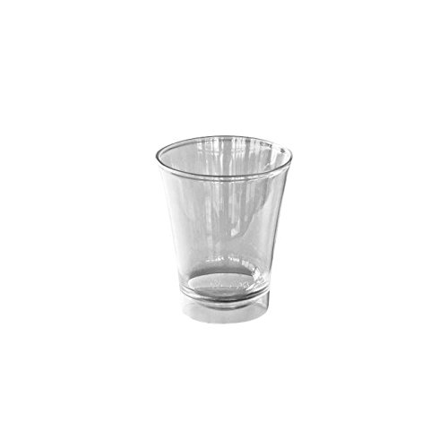 Lot De 10 Verres Evases Coniques Transparents 25 cl