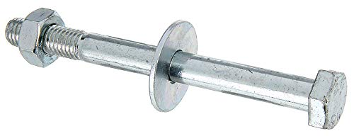 GAH-Alberts 338268 Sechskantschraube | D-Fix, für H-Pfostenträger, U-Pfostenträger etc. | galvanisch blau verzinkt | M10 x 110 mm | 2er Set