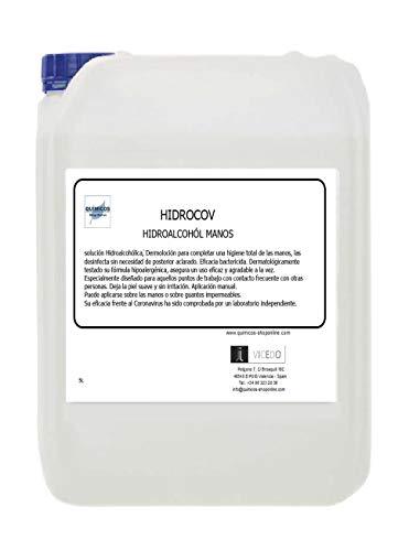 HIDROCOV 5 L GEL DESINFECTANTE DE MANOS ACCION DERMATOLÓGICA
