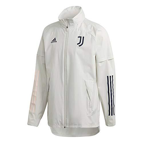 adidas Juventus FC Temporada 2020/21 JUVE AW JKT Weste, Griorb/Tinley, XS