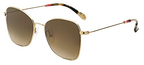 Etnia Barcelona Gafas de Sol TOPANGA SUN Gold/Brown Shaded Hd 52/17/145 unisex