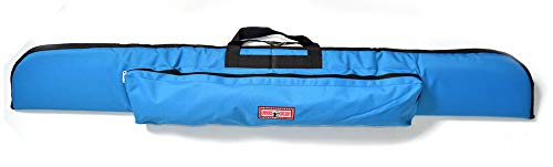 UNIVERSE ARCHERY Cordura Recurve Bow Bag | Heavy Duty Hunting Long Bow Case | Arrow & Bow Cordura Case | Archery Lightweight Recurve Bow Bag with Pocket (63 X 8 Inches) (Blue)