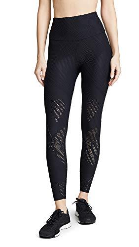 Onzie Damen Selenite Midi Yoga-Hosen, schwarz, Small-Medium