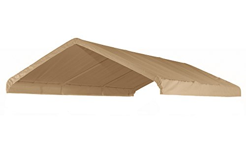 canopiesandtarps 12' X 20' Canopy Replacement Cover (Tan) - for Frames 10' W X 20' L (See Diagram)