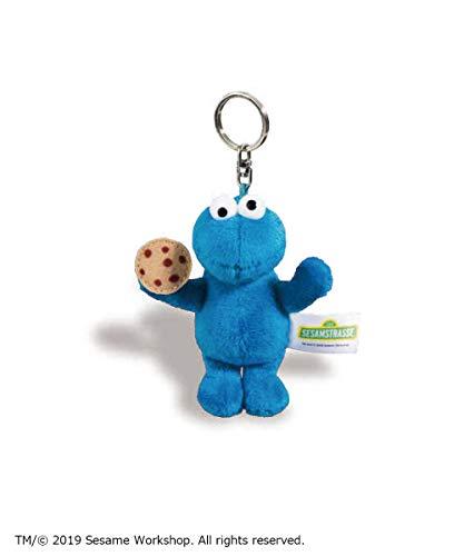 NICI Sesame Street Cookie Monster Keyring Blue 41960