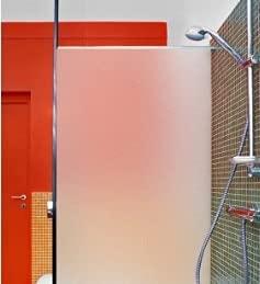 Adhesivos electrostáticos esmerilados Puros, Adhesivos de Vidrio Esmerilado de privacidad, adecuados para Puertas y Ventanas Familiares, armarios T 45x300cm