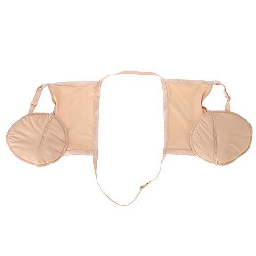 Reggiseno protettivo antisudore ad asciugatura rapida, biancheria intima, imbottitura in cotone per ascelle, WC estivo per donna