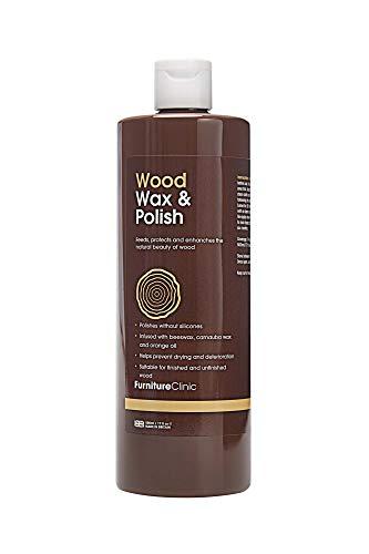Furniture Clinic Wood Wax & Wood Polish (500 ml) - Orange Scented Polish...