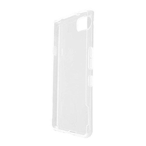 caseroxx TPU-Hülle für BlackBerry KEYone, Tasche (TPU-Hülle in transparent)