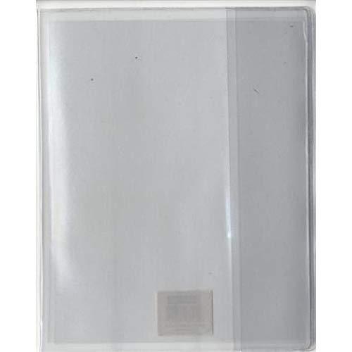 Protège-cahier PVC Transparent à Rabats marque-pages 17 x 22 cm Clairefontaine