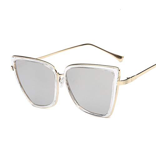 VKGJMHD zonnebril, kattenoog, dames, heren, persoonlijkheid, vlinder, cateye oogschaduw, vintage stijl