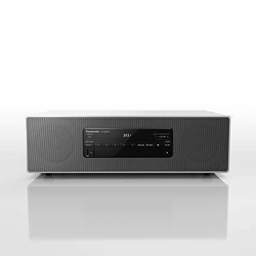 Panasonic SC-DM504EG-W - Micro HiFi (40 W RMS, Digital Dab+, CD, FM, Bluetooth, USB, AUX), Color Blanco